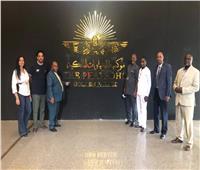 متحف الحضارة يستقبل سفير بوروندي بالقاهرة   صور