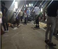مصرع سيدتين في حادث بكوبري الجلاء في مصر الجديدة |صور