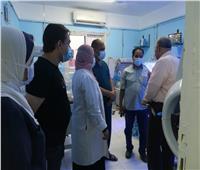 وكيل صحة الغربية يشدد على المتابعة والمرور على مستشفيات المحافظة