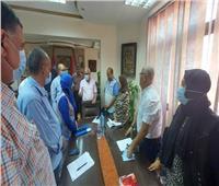 محافظ بورسعيد يتابع سير امتحانات الثانوية العامة بالمحافظة