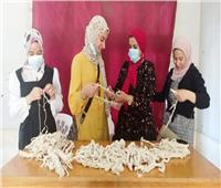 تنظيم ورش عمل لتدريب فتيات الشرقية على حرف جديدة لتمكينها اقتصاديا