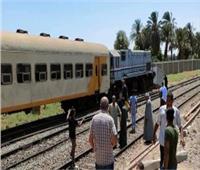 لجنة هندسية لمعاينة حادث تصادم قطار نجع حمادي