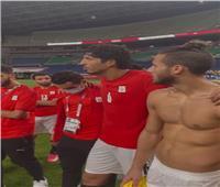 رسالة من حجازي للاعبى المنتخب: «الكورة مش باقية أوعو تخسرو بعض» | فيديو