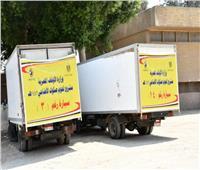 سيارات «الأوقاف» تجوب 5 محافظات لتوزيع لحوم الأضاحي | فيديو