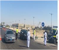 حملات مكثفة على الطرق السريعة لملاحقة المخالفين لقوانين المرور |صور