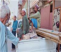 رصد مخالفة وإيقاف أعمال بناء بمدينة الأقصر