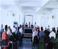 صحة المنوفية: تناقش خطة العمل وما تم تنفيذه في برنامج الزمالة المصرية