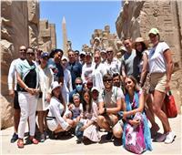 ٦ جنسيات سياحية تزور الأقصر وسط توقعات بزيادة النسب في الشتاء