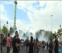 المظاهرات تجتاح فرنسا للمرة الثالثة احتجاجا على الشهادة الصحية  فيديو