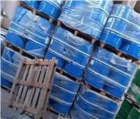 ضبط 22 طنا من المواد الكيماوية غير الصالحة داخل أحد الشركات بالإسكندرية