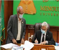مبارك يعتمد نتيجة بكالوريوس الهندسة دور يونيو ٢٠٢١