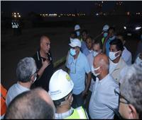 وزير النقل يتابعتطوير ميناء العين السخنة.. ويؤكد: تحويله لأحدث الموانئ العالمية