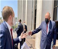 وزير الخارجية يستقبل نظيره التشيكي  صور