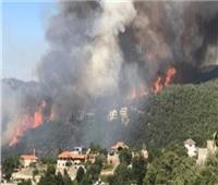 اندلاع حريق هائل في دير القمر بجبل لبنان
