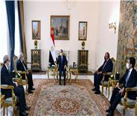 الرئيس السيسي: نحرص على تطوير العلاقات مع الجزائر في شتى المجالات