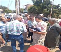 مستشار رئيس الوزراء يشيد بسرعة إنجاز مشروعات «حياة كريمة» بأشمون