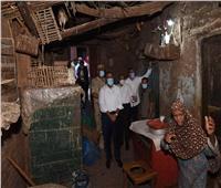مدبولي لربة منزل في المنوفية: «إحنا تحت امرك يا أمي وهنعملك سكن كريم»