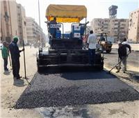 بدء أعمال رصف الطريق الجديد «جنوب بورسعيد»