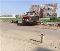 رفع 140 طن مخلفات وقمامة من قرى وأحياء المنيا| صور