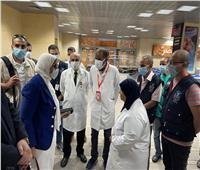 «الصحة»: مناظرة 17 ألف قادم من الخارج بالحجر الصحي بمطار الأقصر