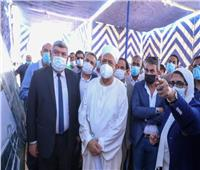وزيرة الصحة وشيخ الأزهر يتفقدان مستشفى القرنة التخصصي