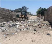 رئيس مركز سمالوط يتابع جهود رفع كفاءة منظومة النظافة العامة
