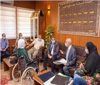 رئيس جامعة طنطا يوجه بعلاج «هند» طالبة كلية التجارة بالمستشفى التعليمي