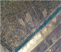 رائد فرنسي ينشر صورة لقناة السويس من الفضاء