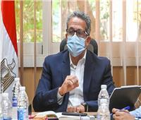 وزير السياحة والآثار يُتابع مستجدات أعمال نقل مركب خوفو الأول