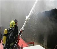 السيطرة على حريق مصنع بلاستيك بأكتوبر