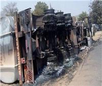 مقتل 33 شخصًا في اصطدام حافلة بشاحنة وقود في الكونغو الديمقراطية