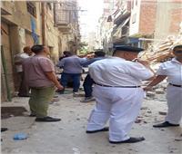 نيابة الإسكندرية تحقق في واقعة انهيار عقار اللبان