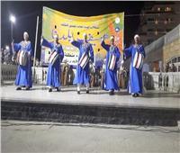 شعبية المنيا تُبهر الجمهور في «صيف بلدنا» على مسرح رأس البر في دمياط