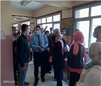 بدء اختبارات كشف الهيئة للطلابالمتقدمين لمدارس التمريضبالمنوفية   صور