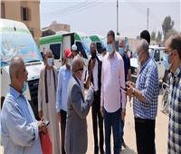رئيس مدينة المنيا: انتظام عمل القافلة الطبية بقرية الأمل