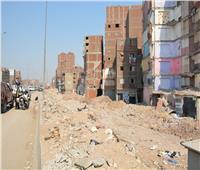 إزالة المباني المتعارضة مع توسعة الطريق الدائري بالقليوبية