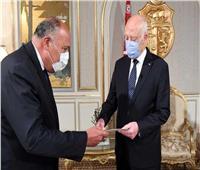 شكري: مصر تثق في قدرة القيادة التونسية على تجاوز الظروف الدقيقة |فيديو