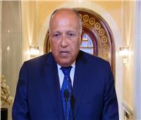 وزير الخارجية يكشف محتوي رسالة الرئيس السيسي لنظيره التونسي