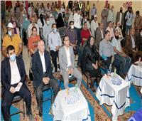 محافظ بني سويف يستعرض الموقف التنفيذي لمشروعات «حياة كريمة» بمركز ناصر