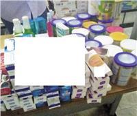 ضبط ربع طن أغذية وأدوية منتهية الصلاحية ببورسعيد