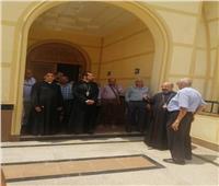 بطريركالكاثوليك يتفقد أعمال الإنشاءات الأخيرة بكنيسة القاهرة الجديدة