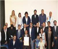 وزيرة الثقافة تكرم صناع فيلم «ريش» الفائز بجائزة أسبوع النقاد في «كان»
