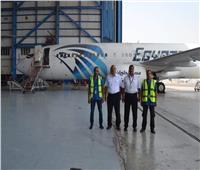 طاقم عمل مصر للطيران للصيانة يحقق إنجازا جديدا في العراق