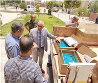 تطوير منظومة أجهزة القياس ومتابعة محطات مياه الشرب بـ«قنا»