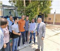 تطوير محطة مياه «كرم عمران» وإنشاء وحدة جديدة فى قنا