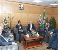 وزير شئون المجالس النيابية يلتقي رئيس هيئة قضايا الدولة 