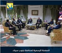 محافظ جنوب سيناء يستقبل مدير الأمن الجديد :استمرار التعاون للحفاظ علي أمن الوطن