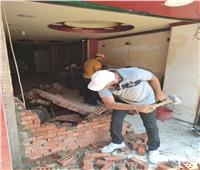 إشغالات «المنيرة الشرقية» تنجح في ضبط بناء مخالف من سكني لتجاري بـ«شمال الجيزة»