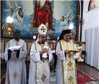 كنيسة السيدة العذراء بالبربا تحتفل بالمناولة الأولى «بحضور نيافة الأنبا بشارة»