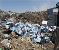 إعدام 592 كجم من المواد الغذائية و4000 لتر عصائر مغشوشة فى أسوان